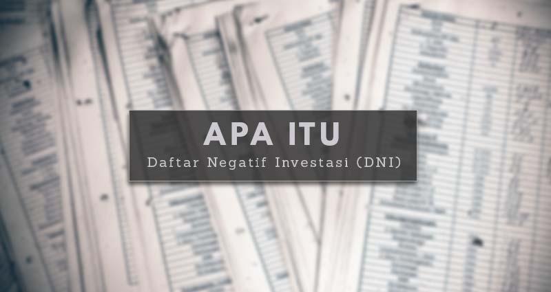 Apa-Itu-Daftar-Negatif-Investasi-(DNI)